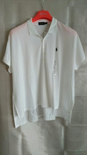 Polo Ralph Lauren Camiseta tipo polo blanco