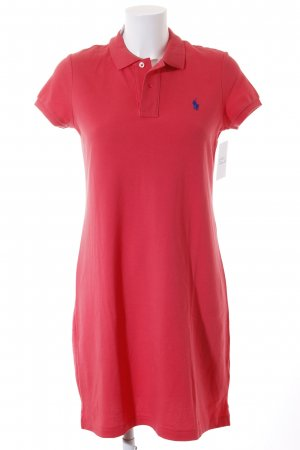 Polo Ralph Lauren Shirtkleid hellrot Casual-Look