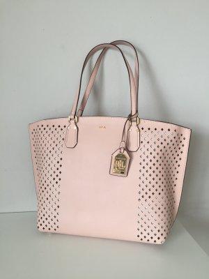 Polo Ralph Lauren Shopper Handtasche Neu Rosa Blush