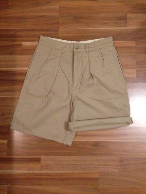 Polo Ralph Lauren Shorts Bermuda Mom Highwaist Karotte sand beige konfektioniert