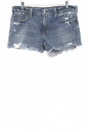 Polo Ralph Lauren Shorts blau Farbverlauf Casual-Look