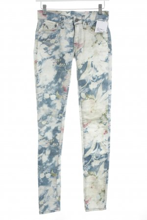 Polo Ralph Lauren Slim Jeans florales Muster extravaganter Stil