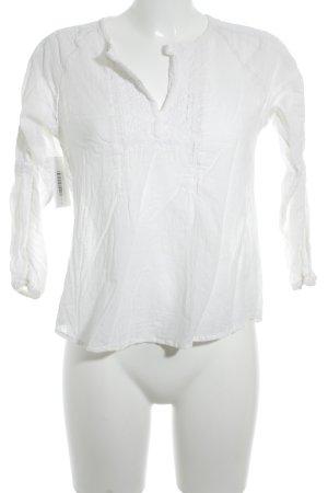 Polo Ralph Lauren Blusa in merletto bianco stile spiaggia