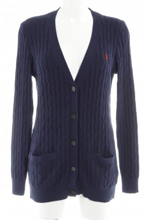 Polo Ralph Lauren Strickjacke dunkelblau Casual-Look