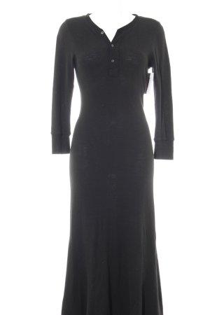 Polo Ralph Lauren Strickkleid schwarz Street-Fashion-Look
