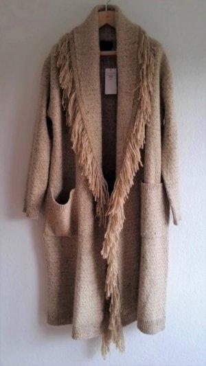 Polo Ralph Lauren, Strickmantel, oversized, beige, 36/38 (S), Lambswool/Cashmere/Alpaka, neu,€ 800,-