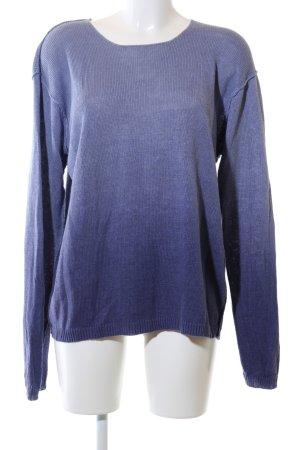 Polo Ralph Lauren Strickpullover blau Farbverlauf Casual-Look