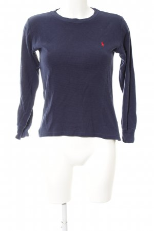 Polo Ralph Lauren Jersey de punto azul look casual