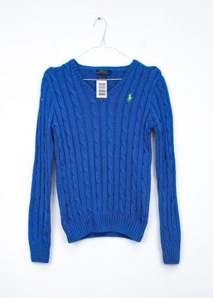 Polo Ralph Lauren Strickpullover blau Gr.S /36