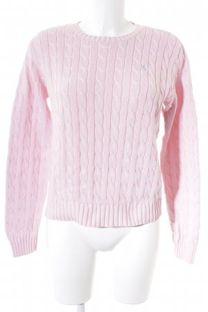 Polo Ralph Lauren Strickpullover hellrosa Casual-Look
