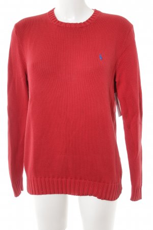 Polo Ralph Lauren Strickpullover rot-blau Casual-Look