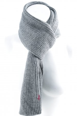 Polo Ralph Lauren Strickschal dunkelgrau Casual-Look