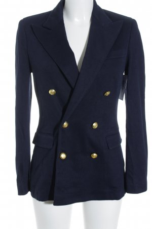 Polo Ralph Lauren Sweatblazer dunkelblau Business-Look
