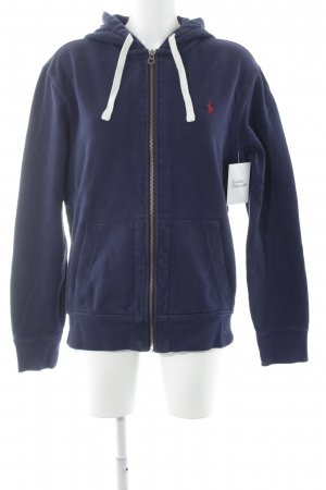 Polo Ralph Lauren Sweat Jacket dark blue casual look