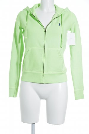 Polo Ralph Lauren Sweatjacke neongrün Casual-Look