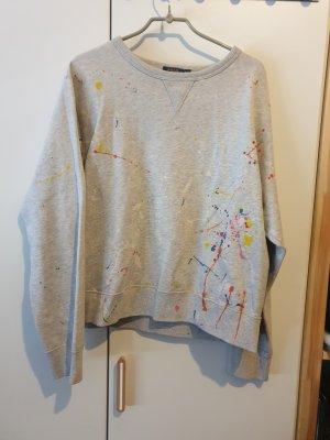 Polo Ralph Lauren Sweatshirt mit Farbspritzern
