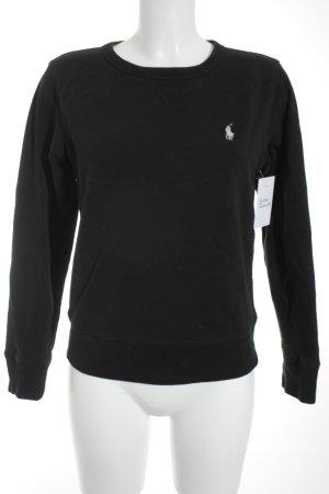 Polo Ralph Lauren Sweat Shirt black casual look