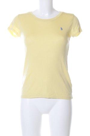 Polo Ralph Lauren T-Shirt blassgelb Casual-Look