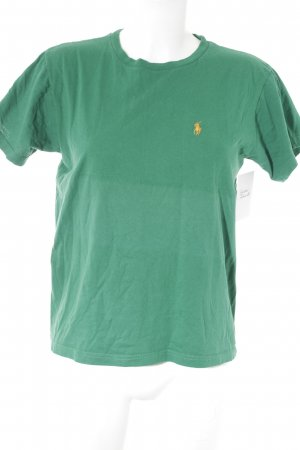 Polo Ralph Lauren T-Shirt grün-hellorange College-Look