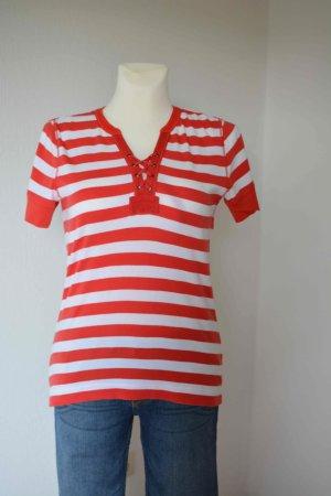Polo Ralph Lauren T-Shirt mit Schnurverschluss vorne