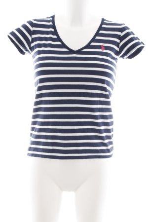 Polo Ralph Lauren T-Shirt Streifenmuster schlichter Stil