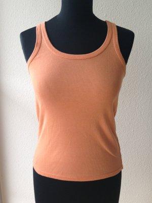 Polo Ralph Lauren Top apricot orange S 36 Cotton Baumwolle basic sportlich