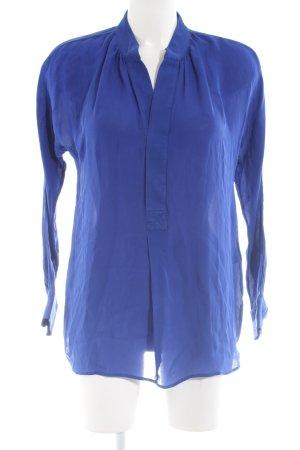 Polo Ralph Lauren Transparenz-Bluse blau Casual-Look