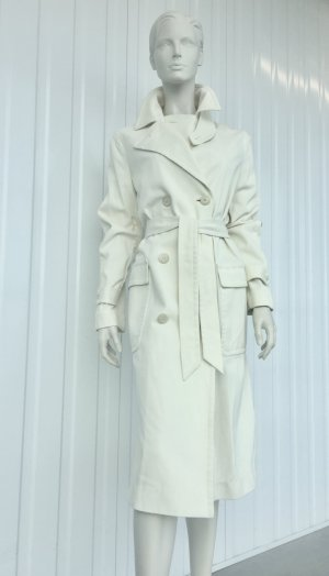 POLO RALPH LAUREN TRENCH / 100% COTTON / CREME / WARM WHITE / US 8