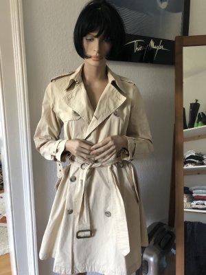 Polo Ralph Lauren Trenchcoat Mantel aus Baumwolle beige
