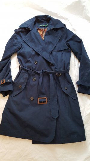 Polo Ralph Lauren Trenchcoat Mantel Größe S blau NEU