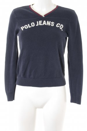 Polo Ralph Lauren V-Neck Sweater multicolored casual look