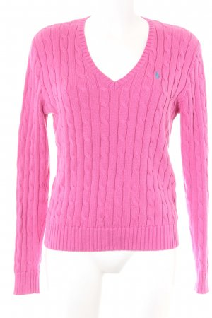 Polo Ralph Lauren V-Neck Sweater pink casual look