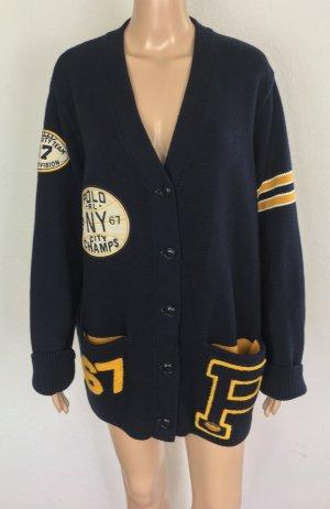 Polo Ralph Lauren, Varsity Cardigan, navy, XL, neu, € 250,-