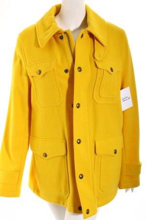 Polo Ralph Lauren Wolljacke gelb Street-Fashion-Look
