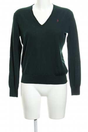 Polo Ralph Lauren Wool Sweater forest green business style
