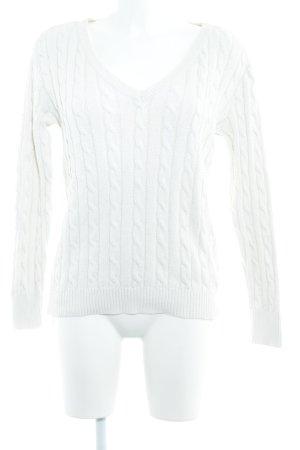 Polo Ralph Lauren Pull en laine blanc cassé style décontracté