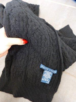 Polo Ralph Lauren Wollschal in schwarz