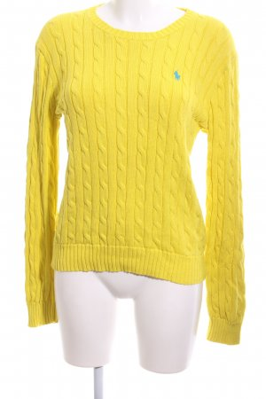 Polo Ralph Lauren Cable Sweater primrose cable stitch casual look