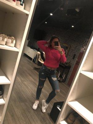 Polo Ralph Lauren Maglione intrecciato rosa-magenta