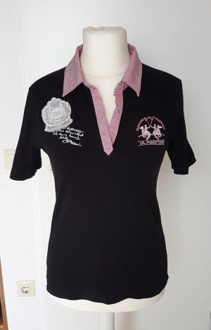La Martina Polo Shirt black
