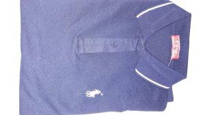 Polo Camiseta tipo polo azul oscuro