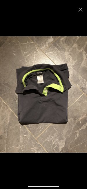 Polo Shirt anthracite-green