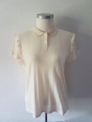 H&M Divided Polo Shirt natural white