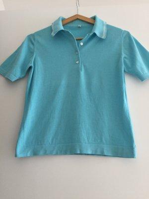 Polo-Shirt aus Baumwolle türkis Gr.36 (IT 42)