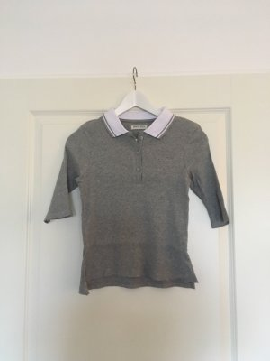 Brave Soul Polo Shirt grey-white
