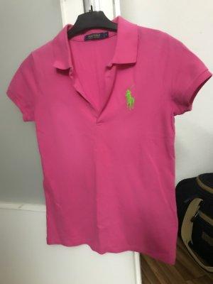 Marc O'Polo Batik shirt framboosrood-neon blauw