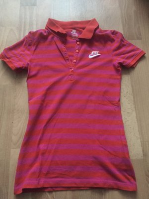 Nike Polo Shirt pink-red