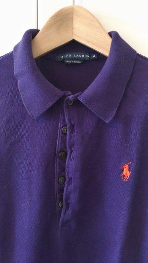 Polo-Shirt, Farbe dunkel-lila