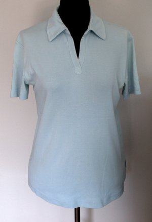 Polo-Shirt hellblau von CECIL