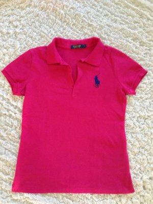 Polo-Shirt in pink von Polo Ralph Lauren